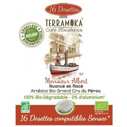 Mr. Albert compatible pods Senseo ® Terramoka