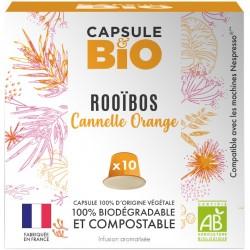 Capsules Rooibos Bio Cannelle Orange compatibles Nespresso ®