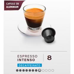 Décaf Intenso, capsules BELMIO compatibles Nespresso ®