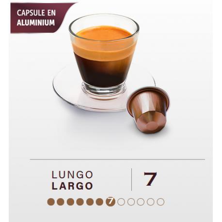 LARGO, BELMIO capsules compatible Nespresso ®