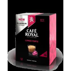 36 Capsules Café Royal Lungo Forte compatibles Nespresso ®