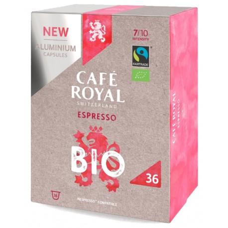 Capsules Café Royal Espresso Bio compatibles Nespresso ®