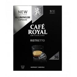 36 Capsules Café Royal Ristretto compatibles Nespresso ®
