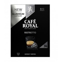 Nespresso ® compatible Café Royal Ristretto capsules