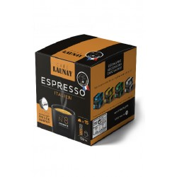 Capsules Italien, compatibles Dolce Gusto ® de Café Launay