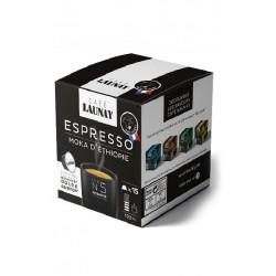 Capsules moka, compatibles Dolce Gusto ® de Café Launay