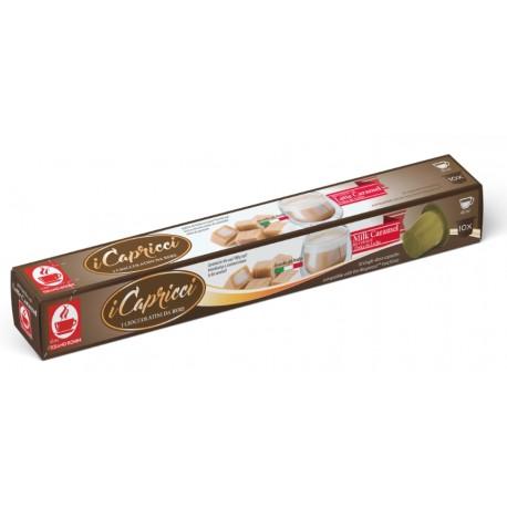 Capsules de lait caramel compatibles Nespresso ® de I Capricci