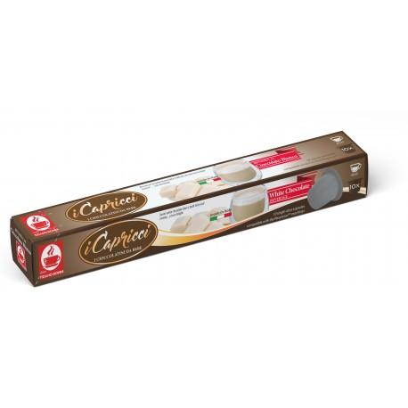 Capsules de chocolat blanc compatibles Nespresso ® I Capricci