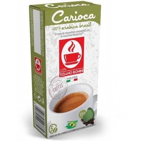Carioca capsules Caffè Bonini compatibles Nespresso ®