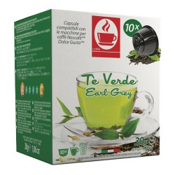 Capsules de Thé Vert Tiziano Bonini compatibles Dolce Gusto®