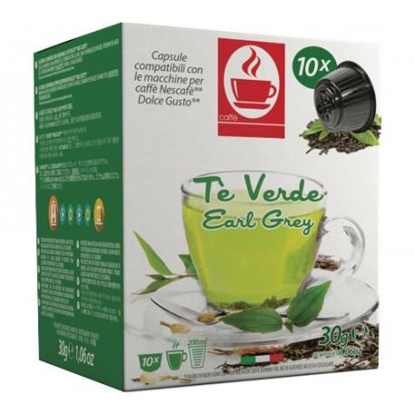 Dolce Gusto® compatible Tiziano Bonini Green Tea capsules