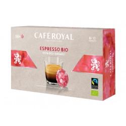 50 Capsules Café Royal Espresso Bio compatibles Nespresso PRO®