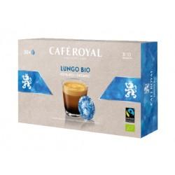 50 Capsules Café Royal Lungo Bio compatibles Nespresso PRO ®