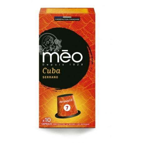 Cuba Serrano Meo compatible Nespresso Capsules