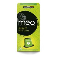 Capsules Brésil Fazanda compatibles Nespresso ® des cafés Méo