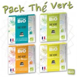 -5% sur le pack de 40 capsules de Thé Bio compatibles Nespresso ®