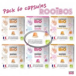 Lot de 120 capsules Lungo Méo compatibles Nespressso ®