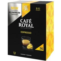 36 Capsules Café Royal Espresso compatibles Nespresso ®
