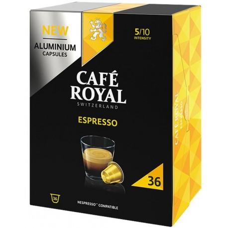 Capsules Café Royal Espresso compatibles Nespresso ®