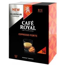 36 Capsules Café Royal Espresso Forte compatibles Nespresso ®