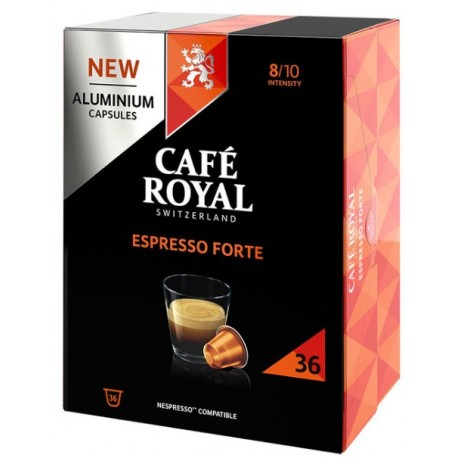 Royal Decaffeinato Coffee capsules compatible with Nespresso ®