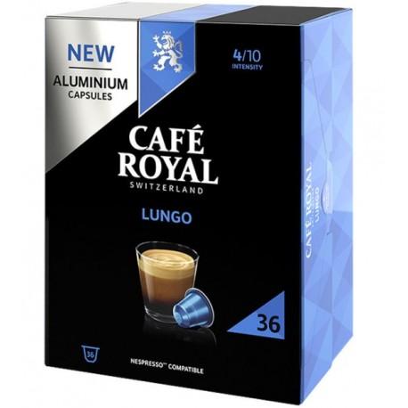 Capsules Café Royal Lungo compatibles Nespresso ®