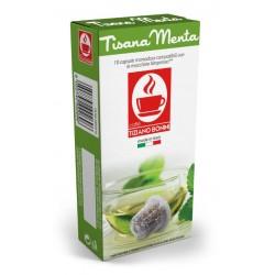 Capsules de Tisane à la Menthe Tiziano Bonini compatibles Nespresso ®