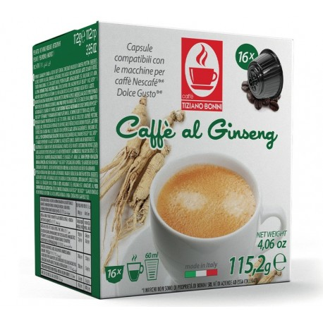 Ginseng Capsules compatible with Dolce Gusto ®.