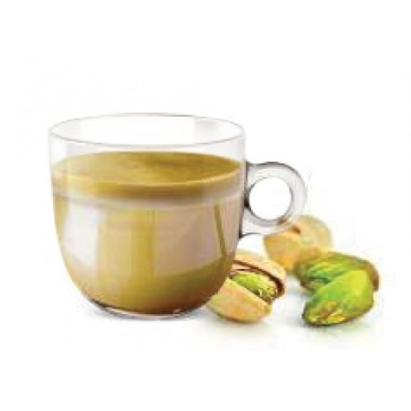 Nespresso ® compatible Italian chocolate capsules with hazelnuts