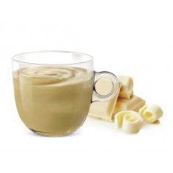 Nespresso ® white chocolate compatible capsules