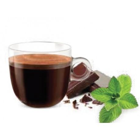 Capsules compatibles Nespresso ® Menthe Chocolat Café