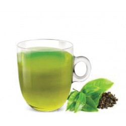 Mint green tea compatible with Nespresso ® capsules