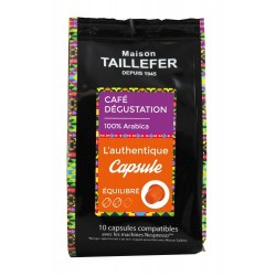 Capsules compatibles Nespresso ® L'Authentique de Maison Taillefer