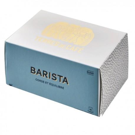 Capsules Terres de Café Barista compatibles Nespresso ®