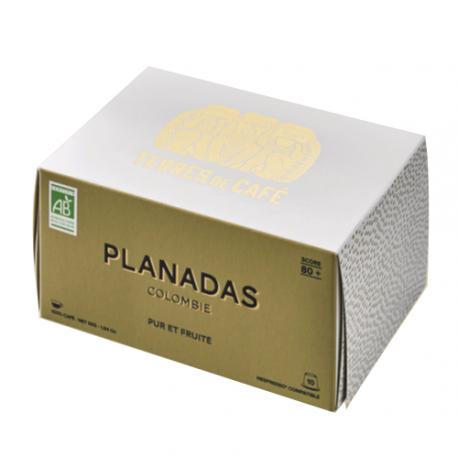 Capsules Terres de Café Colombie Bio compatibles Nespresso ®