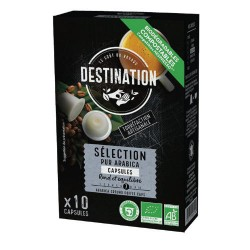 Capsules Biodégradables compatibles Nespresso ® Sélection de Destination