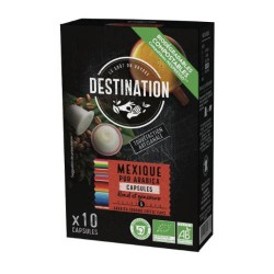 Capsules Biodégradables compatibles Nespresso ® Mexique de Destination