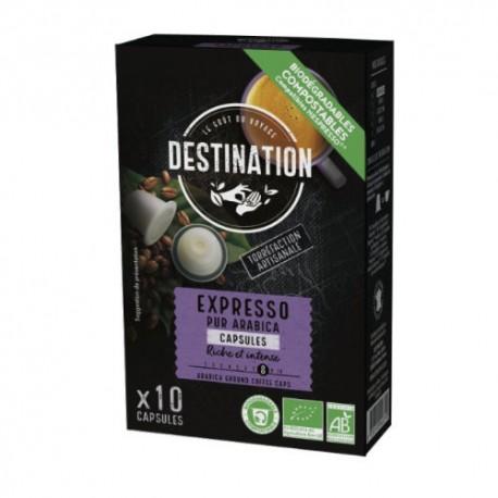 Pack découverte Terramoka 60 capsules bio compatibles Nespresso ®