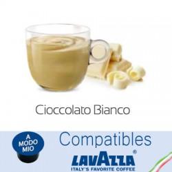 Capsules compatibles Lavazza A Modo Mio ® Chocolat blanc