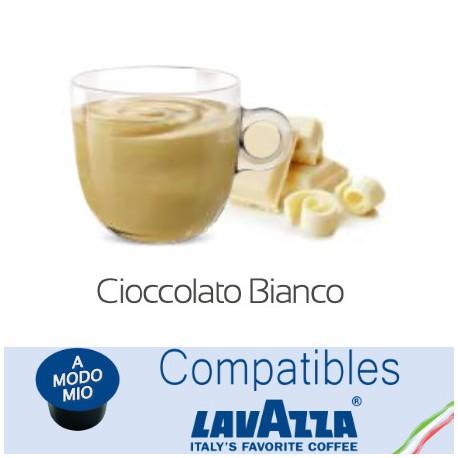 Lavazza A Modo Mio ® white chocolate compatible capsules