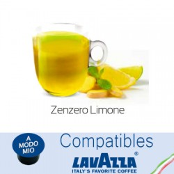Lavazza A Modo Mio ® compatible lemon ginger capsule