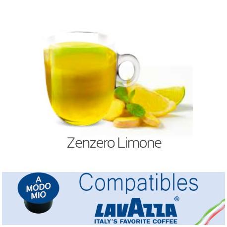 Lavazza A Modo Mio ® compatible lemon ginger capsule
