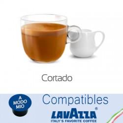 Capsules Café au lait compatibles Lavazza A Modo Mio ® Cortado