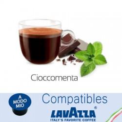 Capsules compatibles Lavazza A Modo Mio ® Menthe Chocolat Café