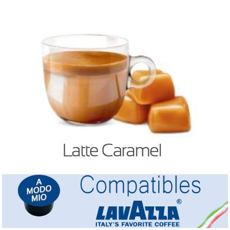 Lavazza A Modo Mio ® Compatible Caramel Milk Capsule