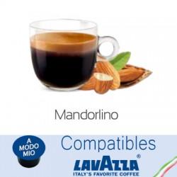 Capsules compatibles Lavazza A Modo Mio ® à l'amande.