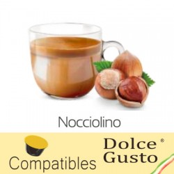 Capsules arôme Noisette compatibles Dolce Gusto ® Caffè Bonini