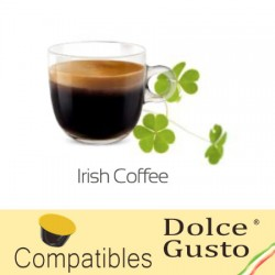 Irish Coffee capsules compatible with Dolce Gusto ®