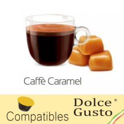 Dolce Gusto ® Café Caramel compatible capsules