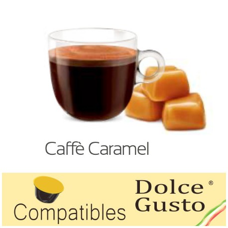 Capsules compatibles Dolce Gusto ® Café Caramel